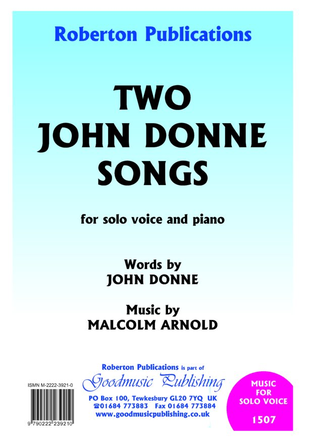 Two John Donne Songs image