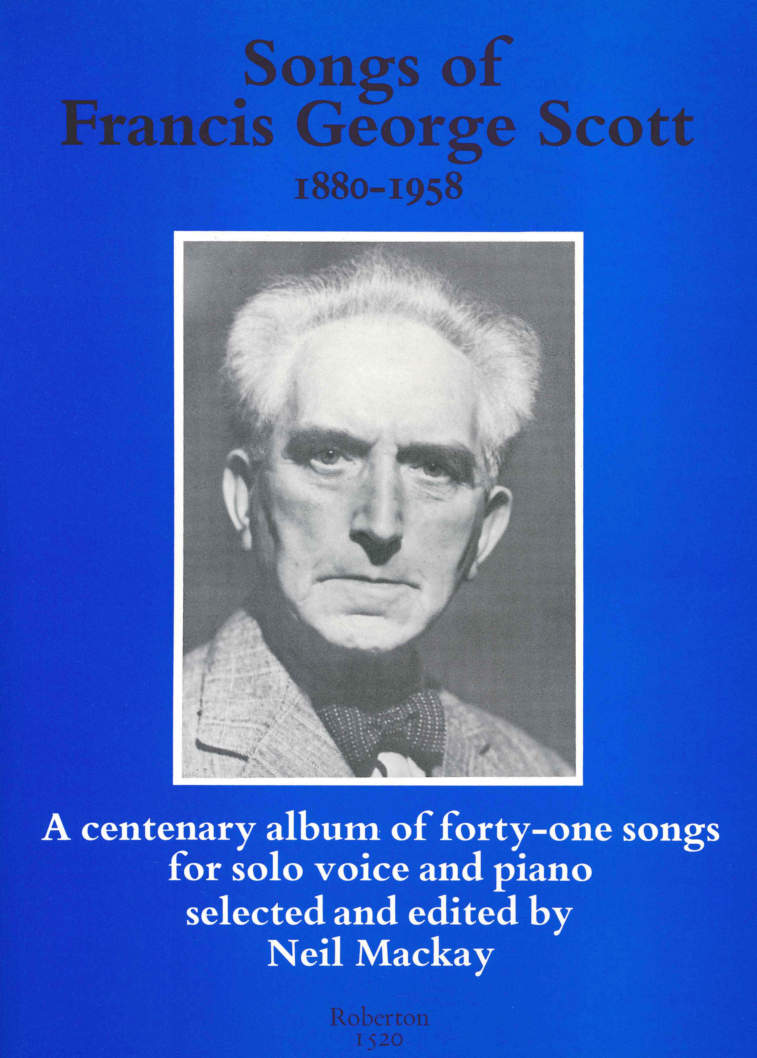 Songs of Francis George Scott image