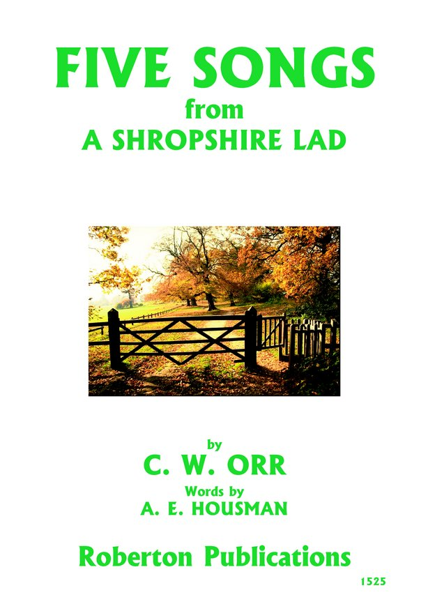 Five Songs from A Shropshire Lad image