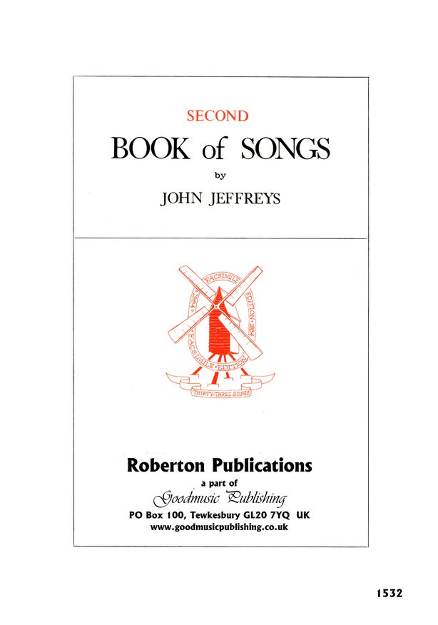 Second Book of Songs image