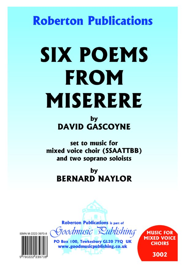 Six Poems from Miserere image
