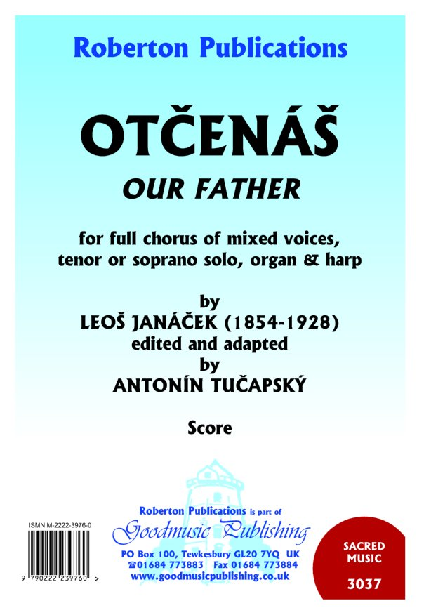 Otcenas ed.Tucapsky Choir part only image