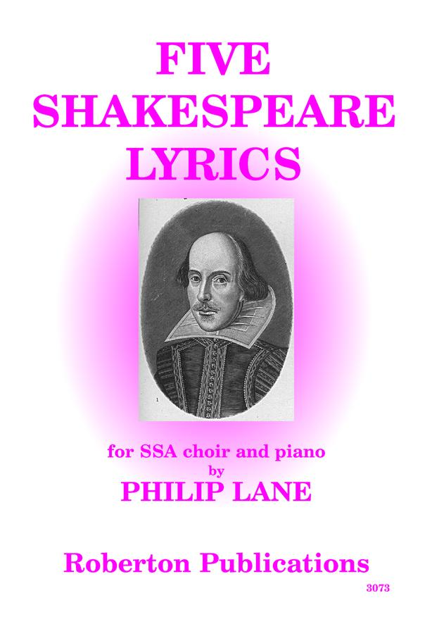 Five Shakespeare Lyrics SSA image