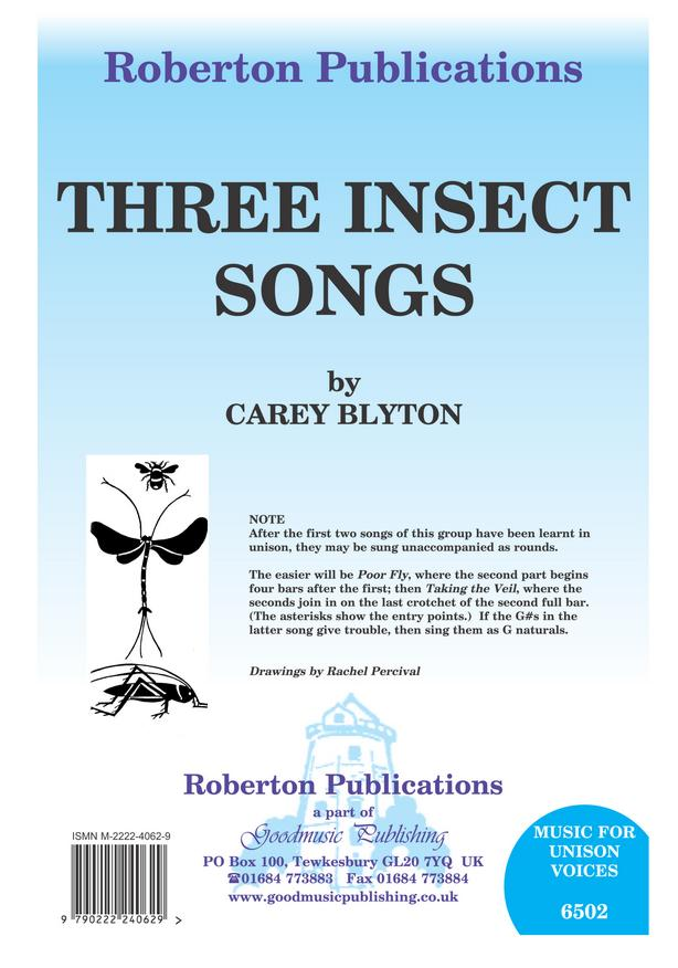 Three Insect Songs image