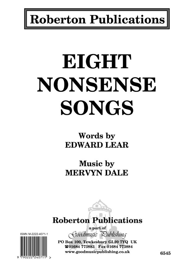 Eight Nonsense Songs image