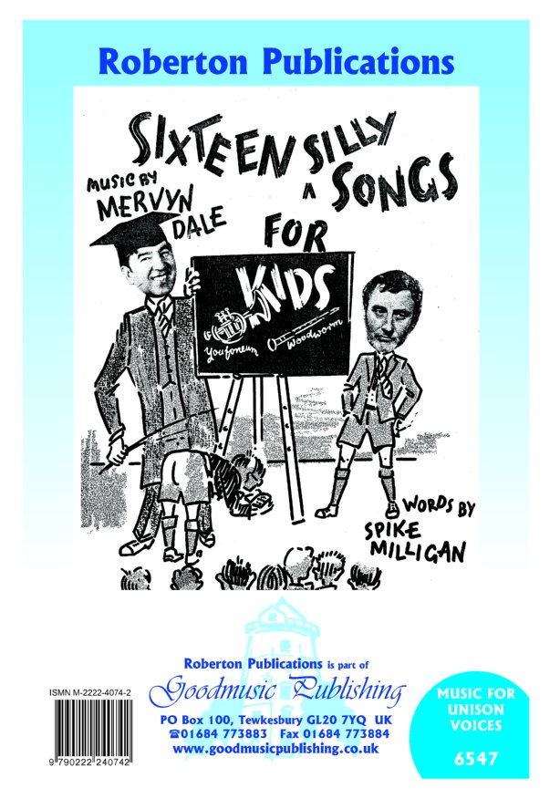 Sixteen Silly Songs for Kids image