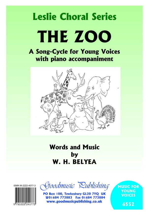 Zoo - Song Cycle for Young Voices image