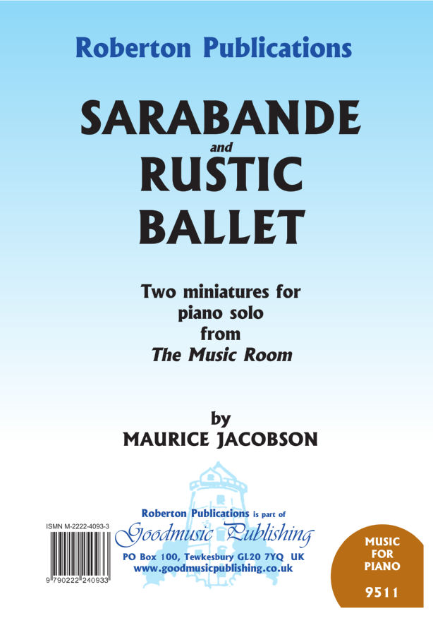 Sarabande and Rustic Ballet image