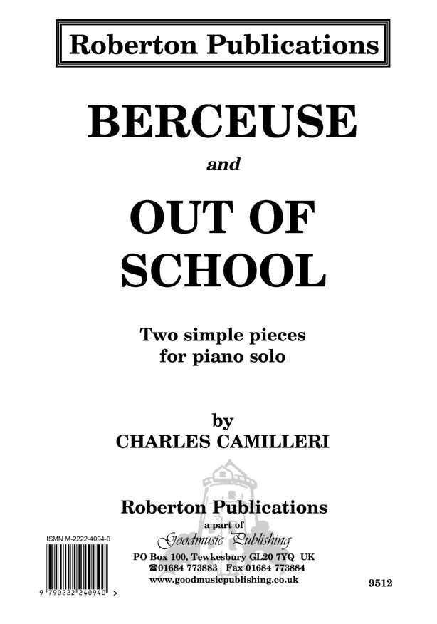 Berceuse / Out of School image