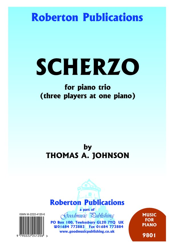 Scherzo for Piano Trio image