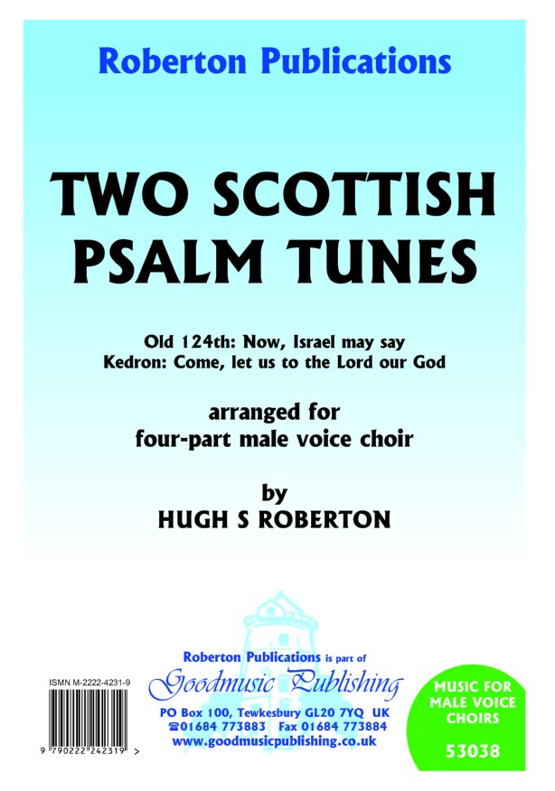 Two Scottish Psalm Tunes image