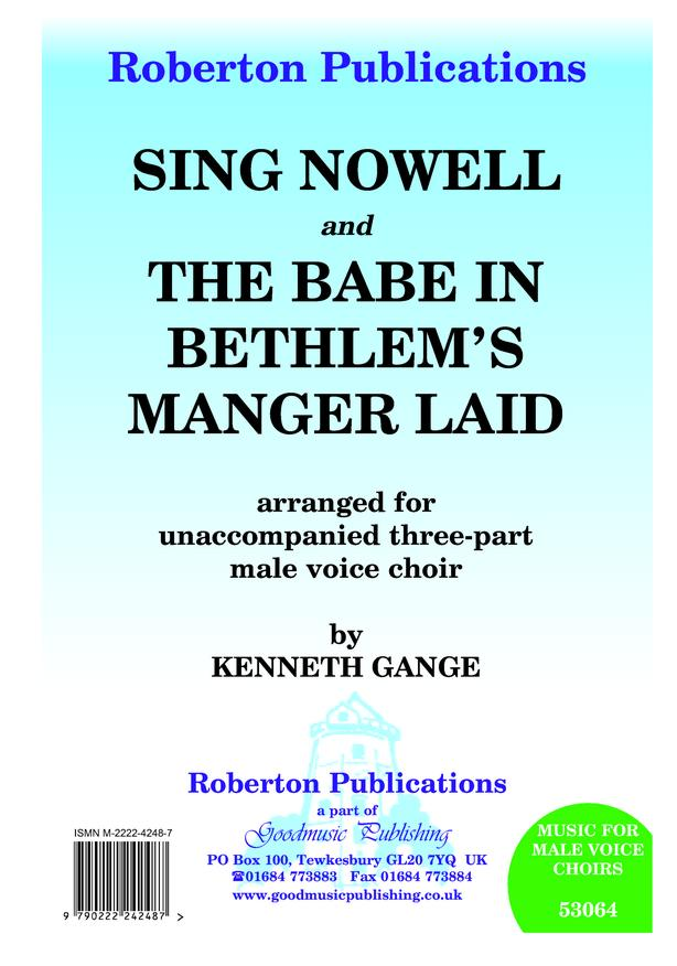 Sing Nowell & Babe in Bethlhem's... image