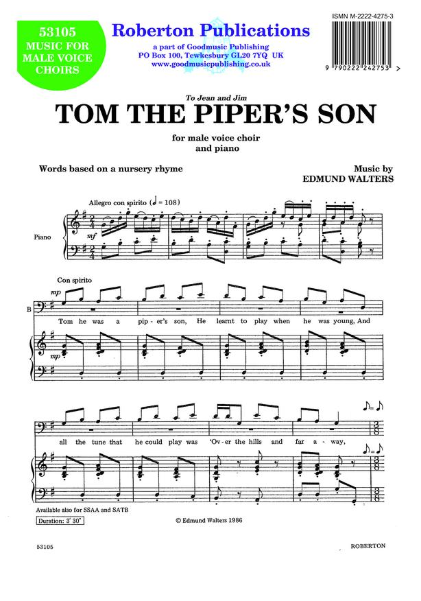 Tom the Piper's Son image