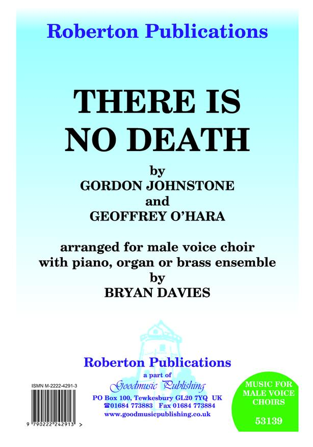 There Is No Death (arr.Davies) image