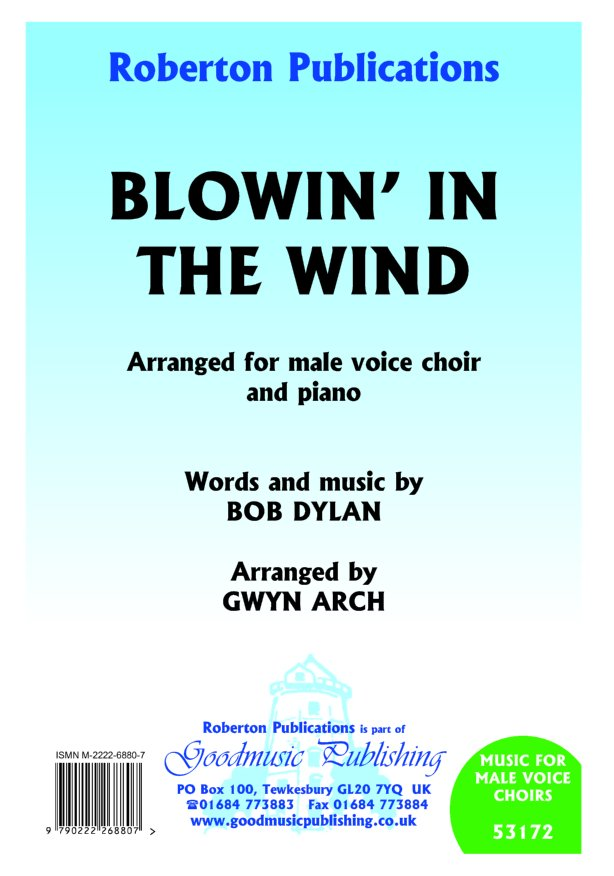 Blowin' in the Wind (arr.Arch) image