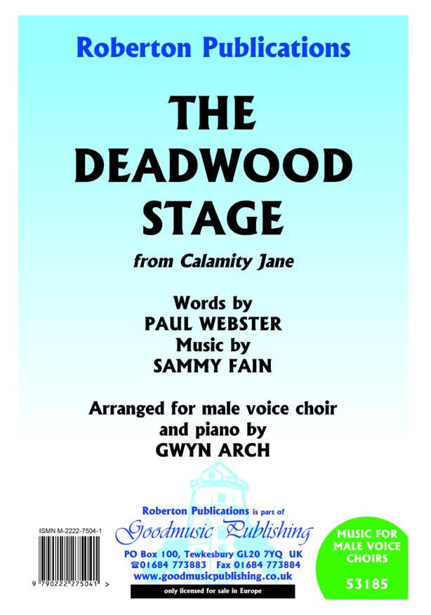 Deadwood Stage (arr.Arch) image