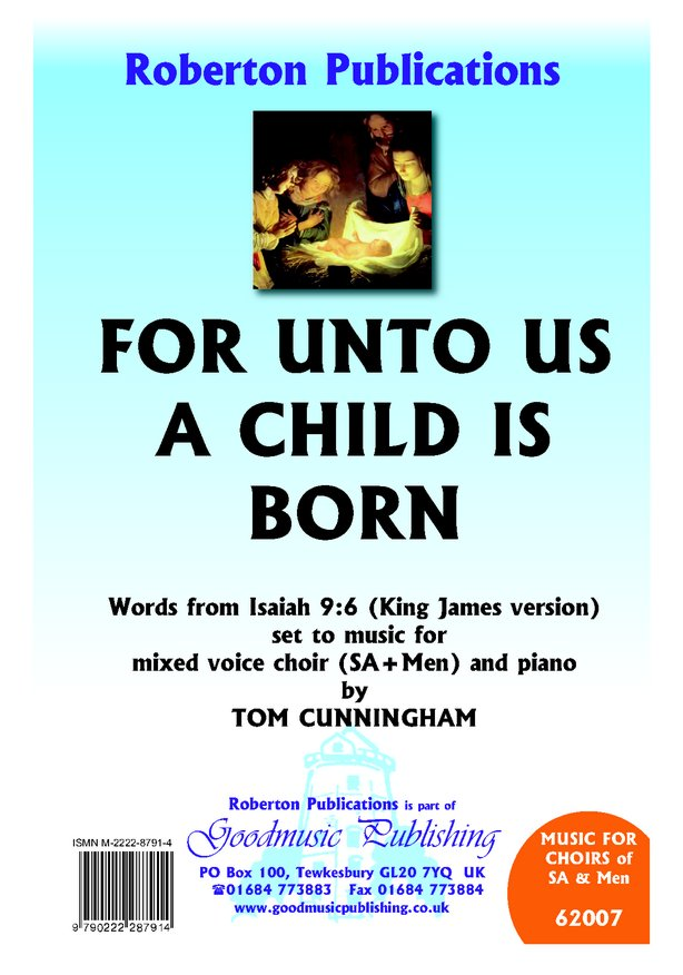 For Unto Us A Child Is Born image