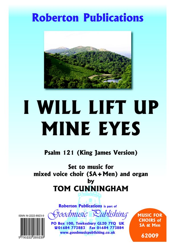 I will lift up mine eyes image