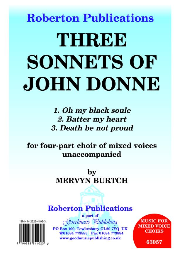 Three Sonnets of John Donne image