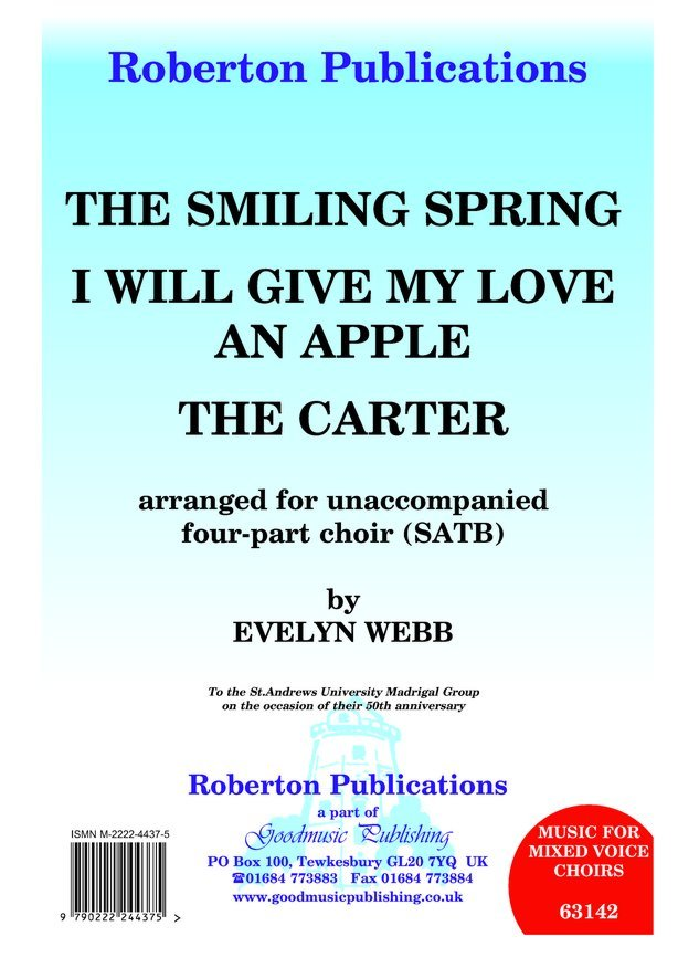 Smiling Spring/Carter/I Will Give.. image