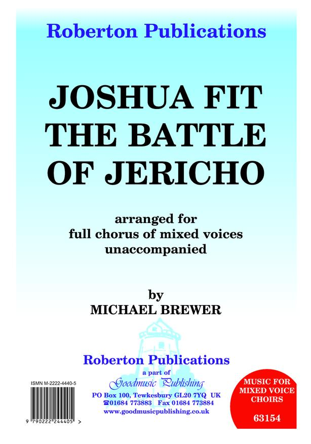 Joshua Fit the Battle of Jericho image