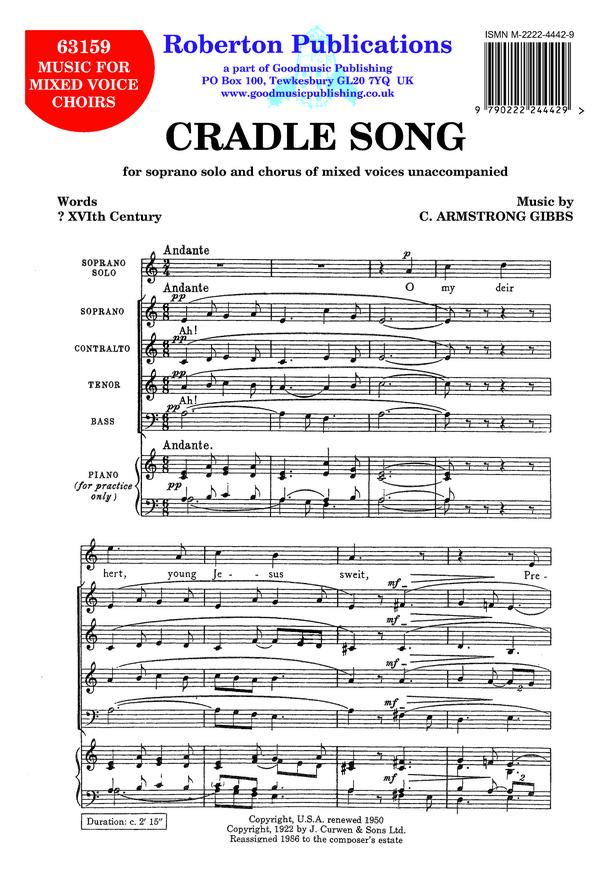 Cradle Song image