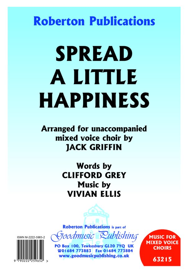 Spread a Little Happiness (Griffin) image
