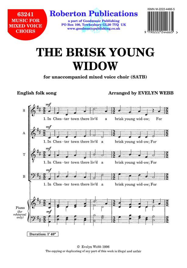 Brisk Young Widow image