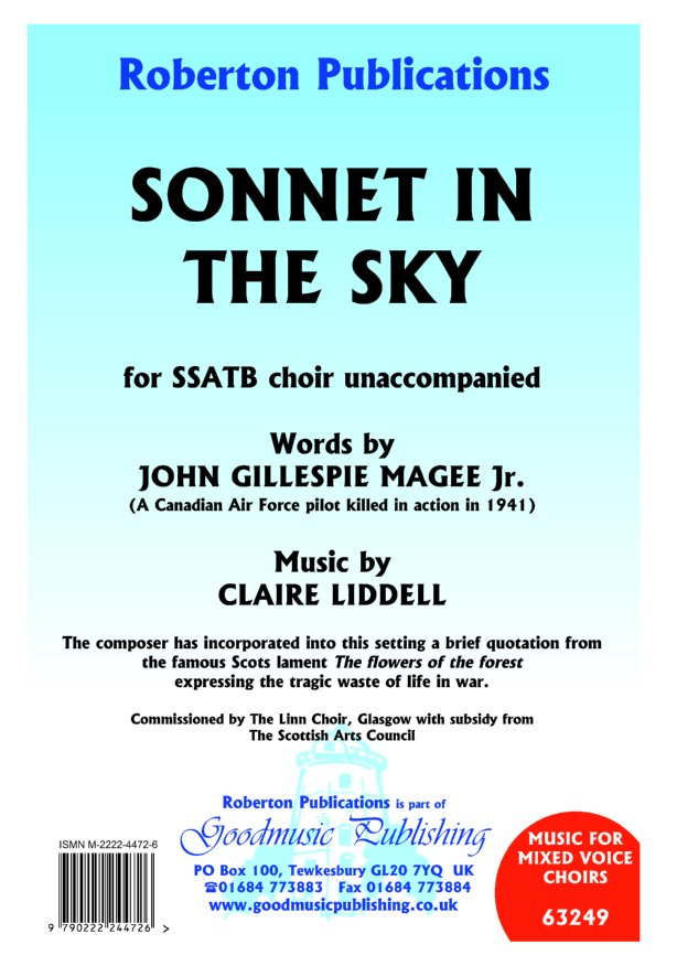 Sonnet in the Sky image