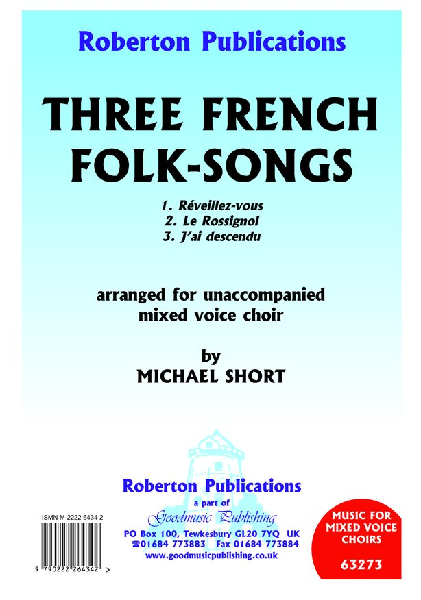 Three French Folk Songs image