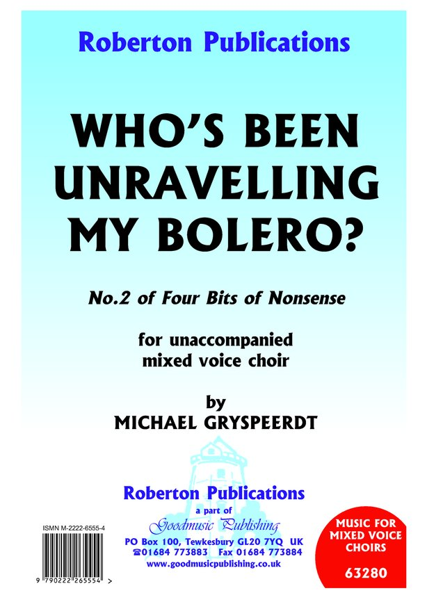 Who's Been Unravelling My Bolero? image