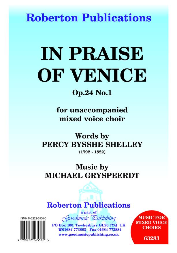 In Praise of Venice Op.24 No.1 image