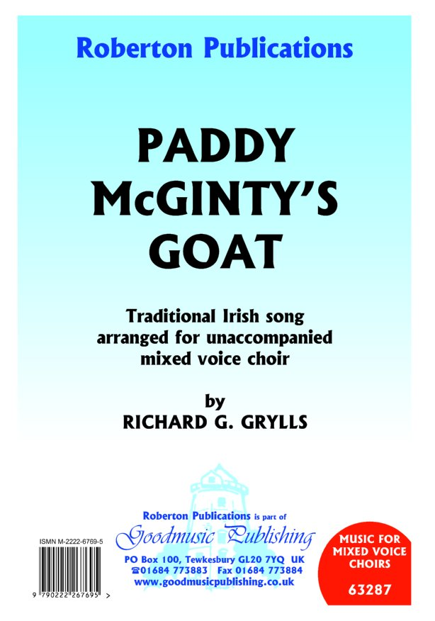 Paddy McGinty's Goat image