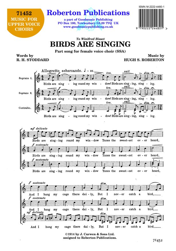 Birds Are Singing image