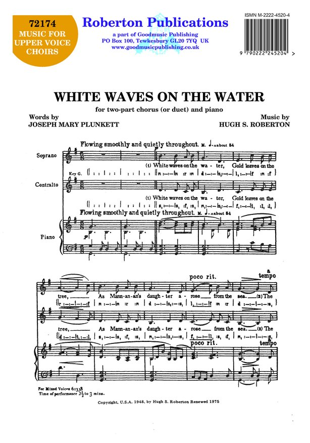 White Waves On the Water image