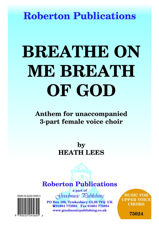 Breathe On Me Breath of God image