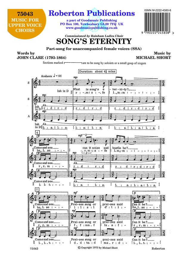 Song's Eternity image