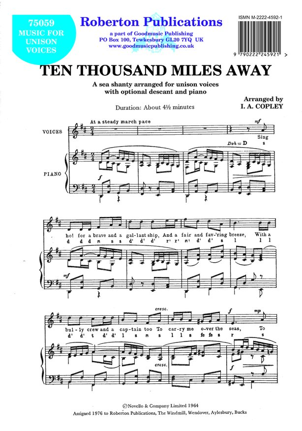 Ten Thousand Miles Away image