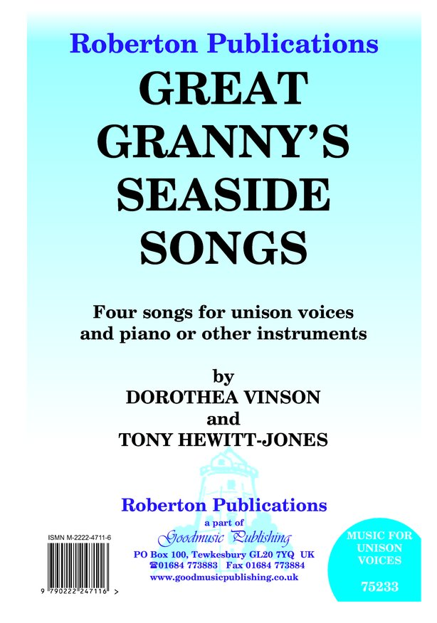 Great Granny's Seaside Songs image