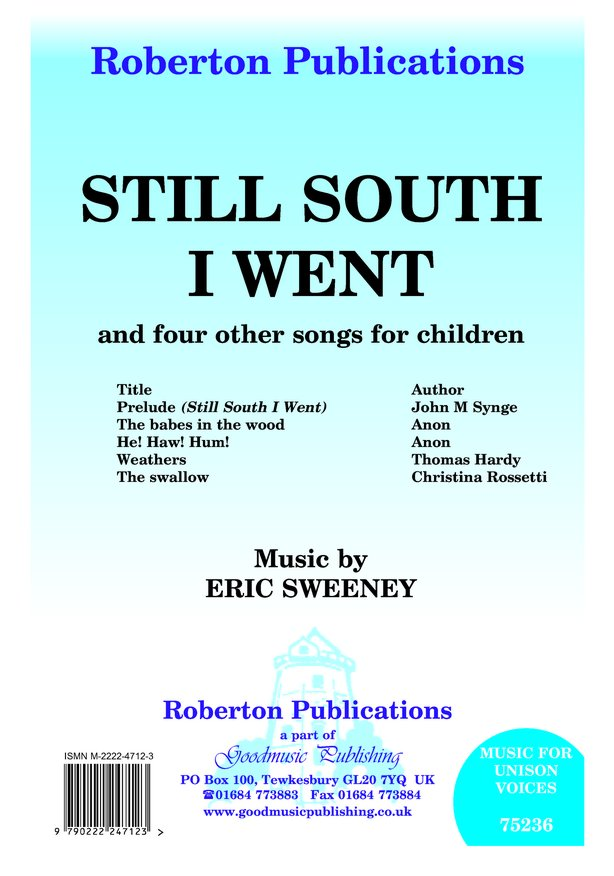 Still South I Went & 4 Other Songs image