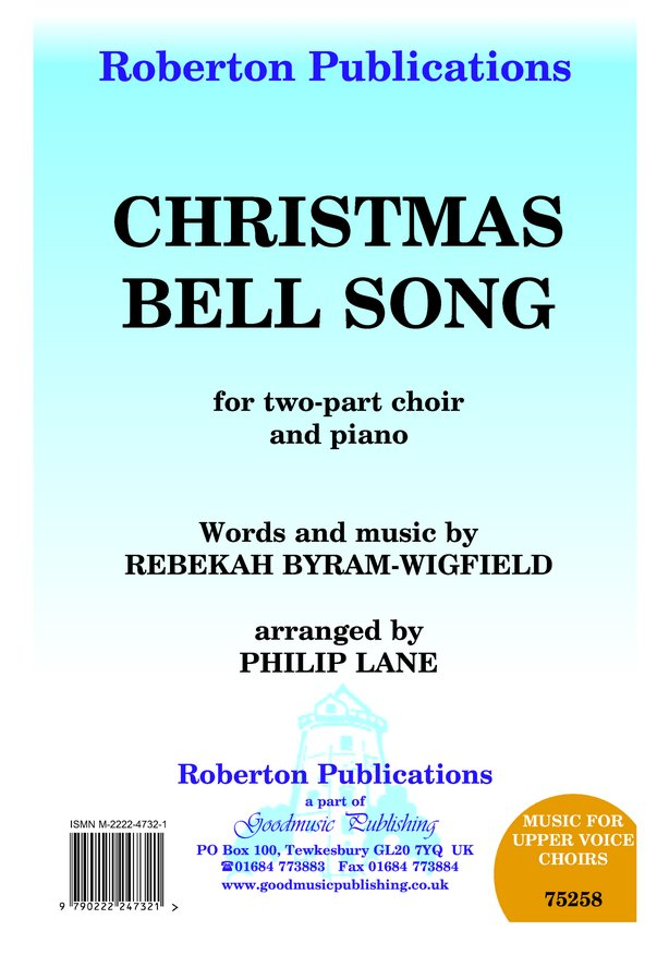 Christmas Bell Song (arr.Lane) image
