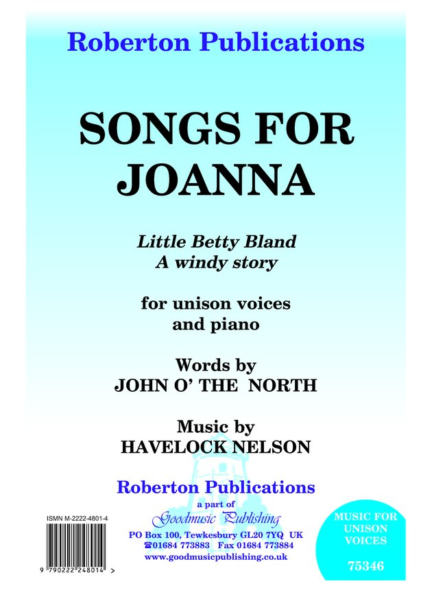 Songs for Joanna image