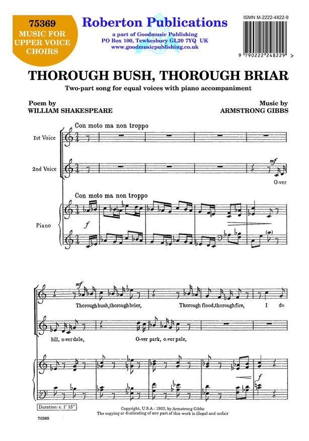 Thorough Bush Thorough Briar image