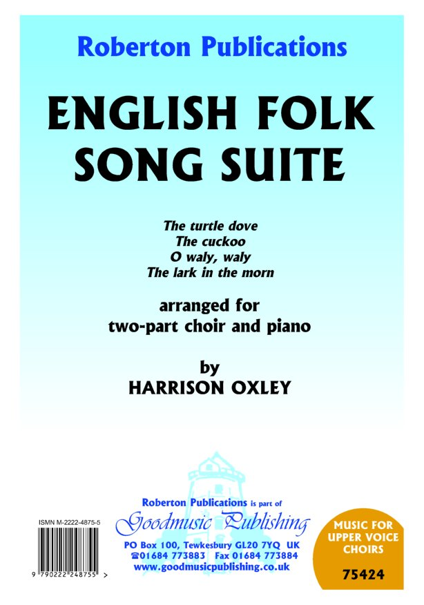 English Folk Song Suite image