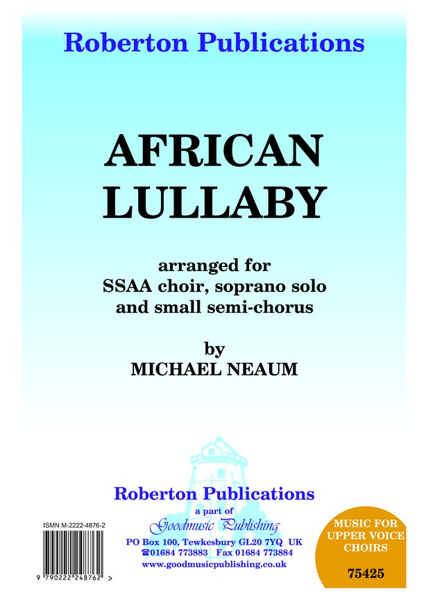 African Lullaby image