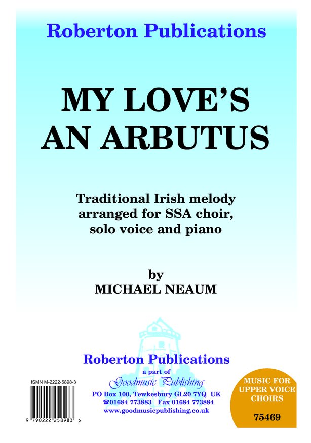 My Love's an Arbutus image