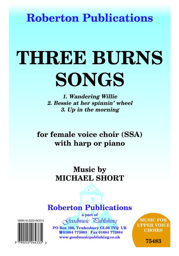 Three Burns Songs image