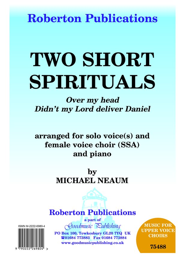 Two Short Spirituals image