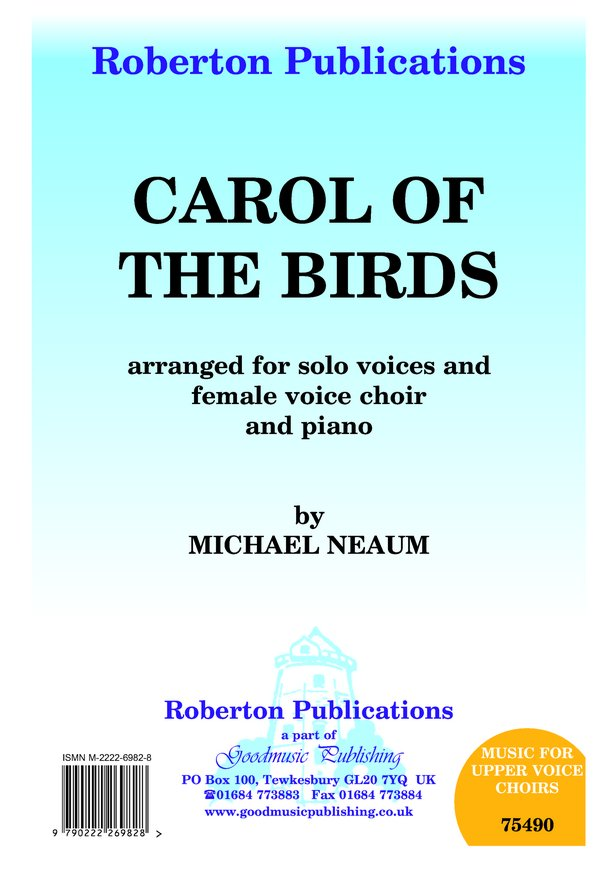 Carol of the Birds image