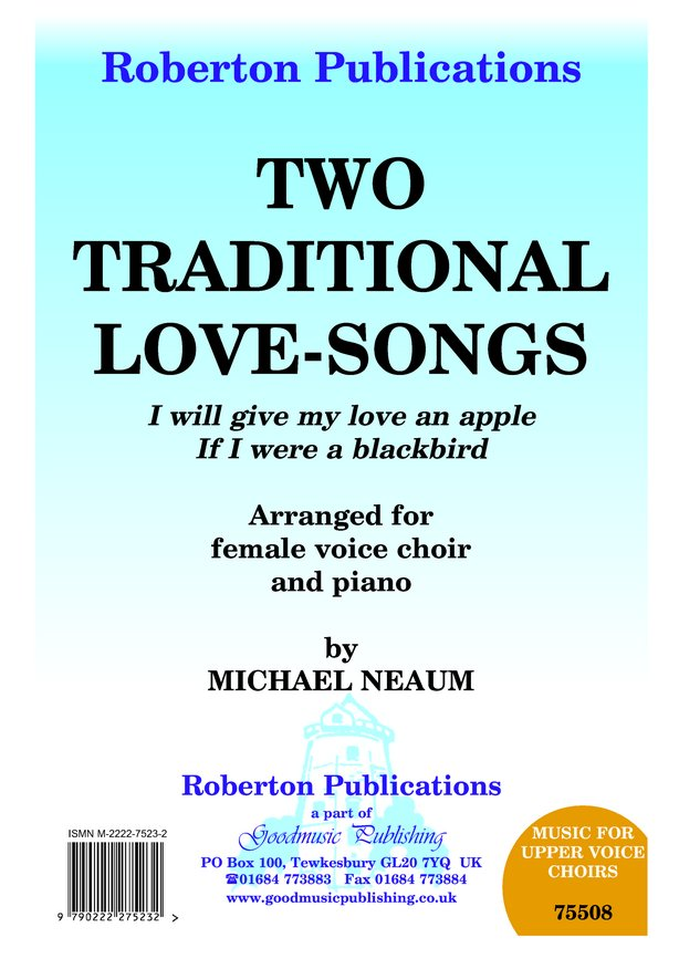 Two Traditional Love Songs image
